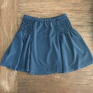 Anthropologie Maeve Monterey Skirt